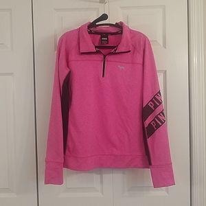 VS PINK Quarter Zip Sweatshirt